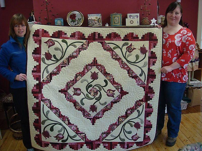 Meri D winner Cotton Tales raffle quilt 001