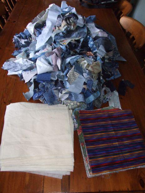 Blue QAYG Fabrics