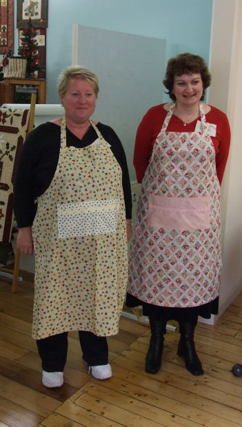 Apron Strings Kristeen and Coral