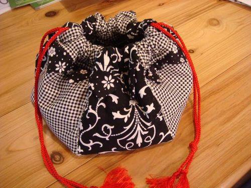 Robyn Gails Hexagon Bag