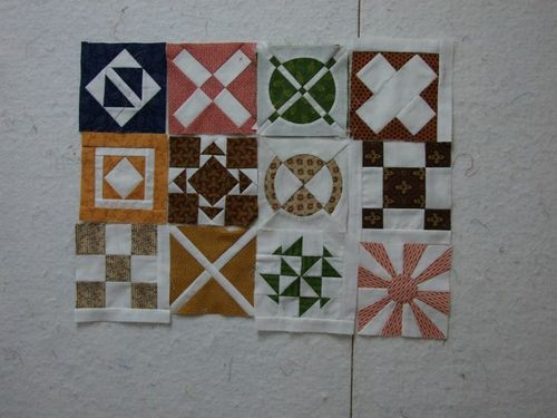 Julie Dear Jane Blocks