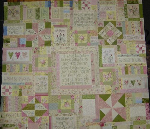 Leanne's Journey of a Quilter Tuesday night