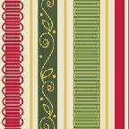 City Girl Holiday Ribbon Stripe