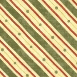 Crazy Eight Bias Stripe Holly