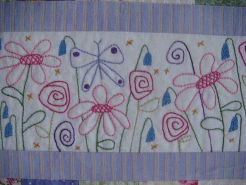 Glenda Flowers and Flutterbys Close Up